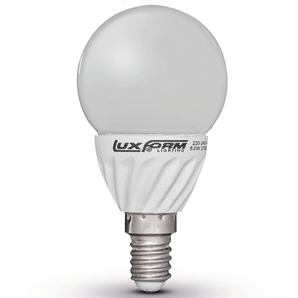 Luxform Sada 4 LED žárovek E14 230V 5W G50 (EWW)
