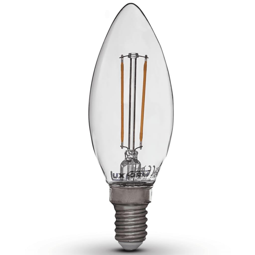 Luxform Sada 4 LED žárovek ve tvaru svíčky 2 W E14 230 V 2200 K