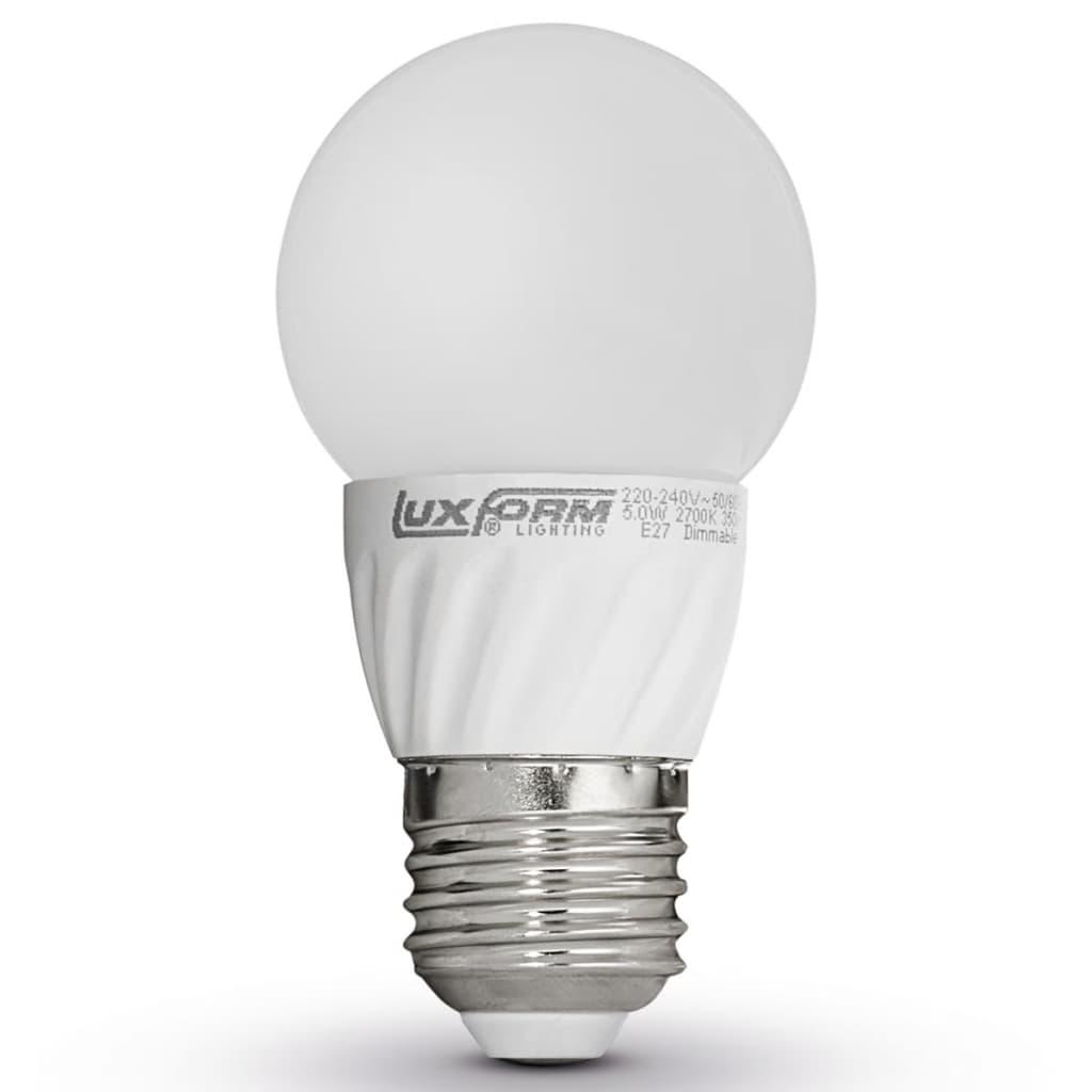 Luxform Sada 4 LED žárovek E27 230V 5W G50 2700K (EWW) stmívatelné