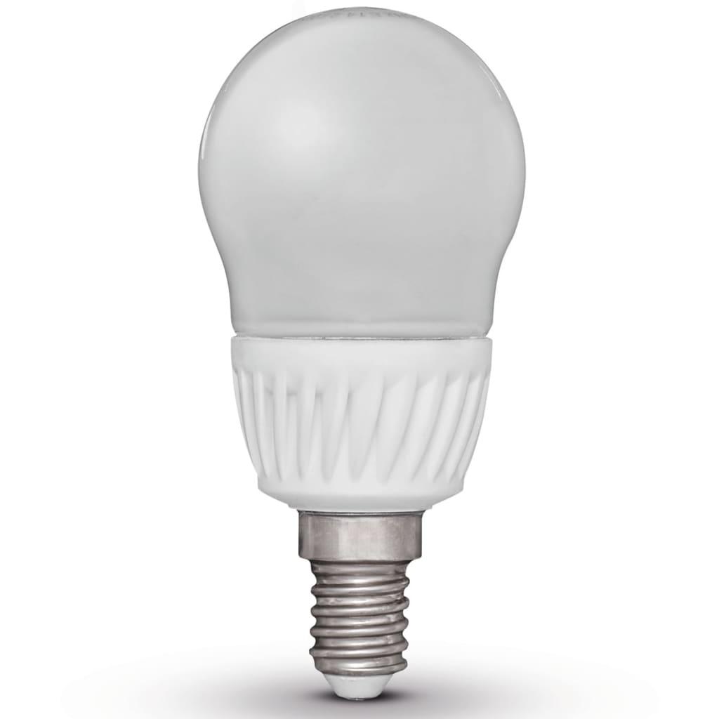 Luxform Sada 4 LED žárovek ve tvaru hrušky E14 230V 5W G45 (EWW)