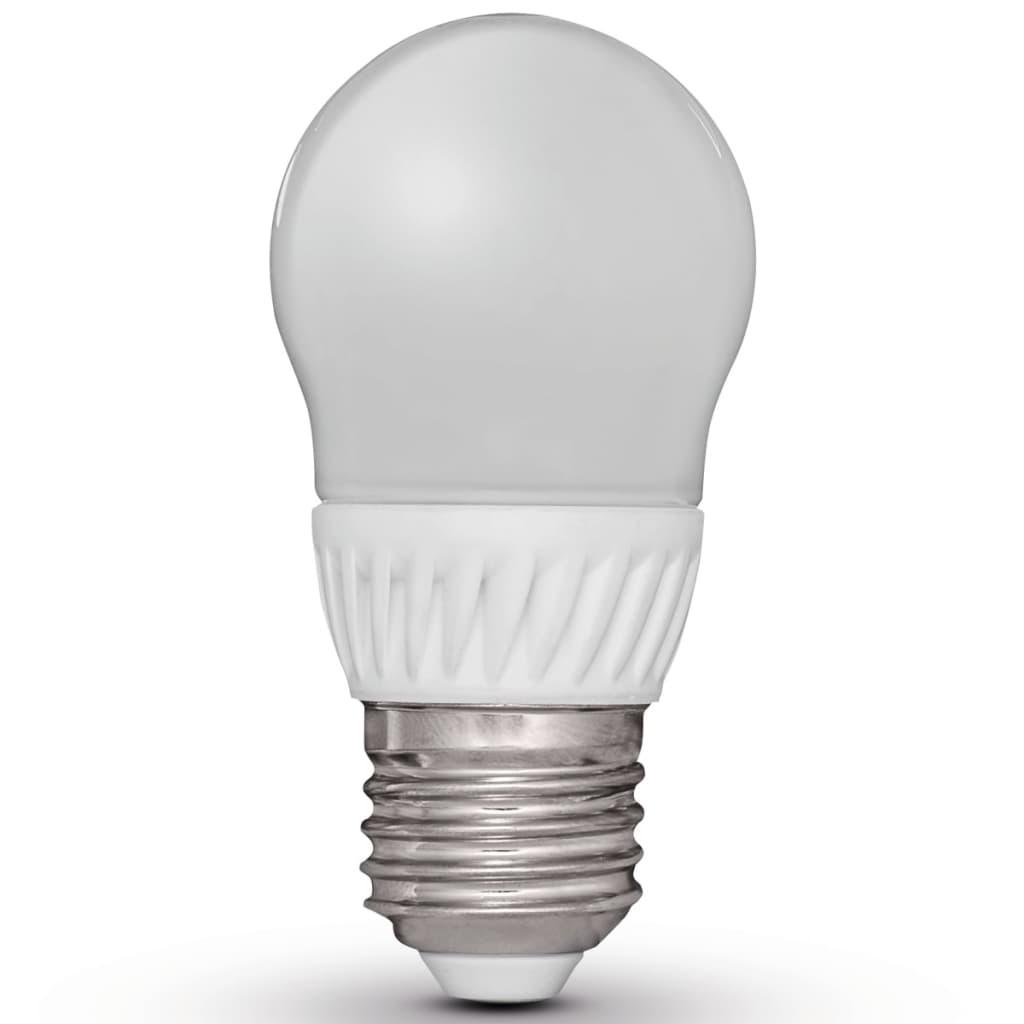 Luxform peervormige led-lamp E27 230V 5W G45 (4 stuks)