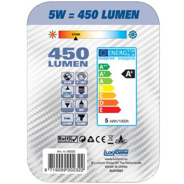 Lot de 4 ampoules LED Luxform forme poire[2/3]