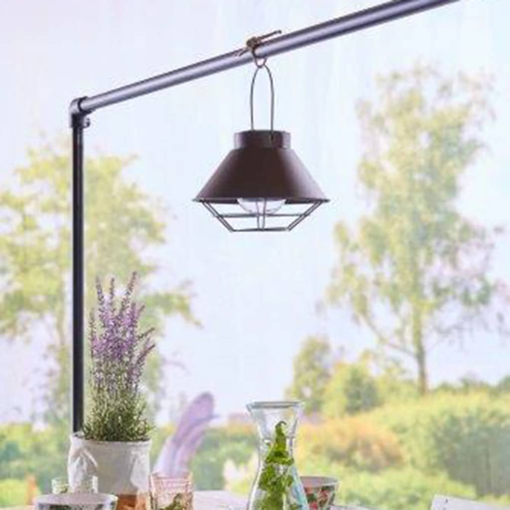 Luxform Lampă de grădină solară cu LED Detroit poza vidaxl.ro