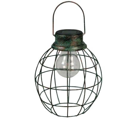 Luxform Solar LED Garten Hängeleuchte Tango Grün 30101[1/6]