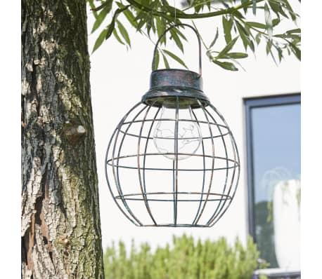 Luxform Solar LED Garten Hängeleuchte Tango Grün 30101[3/6]