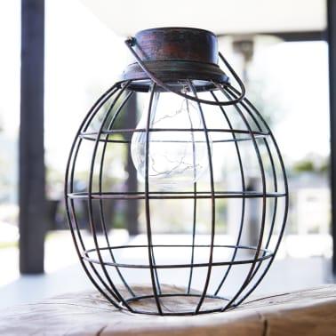 Luxform Solar LED Garten Hängeleuchte Tango Grün 30101[2/6]