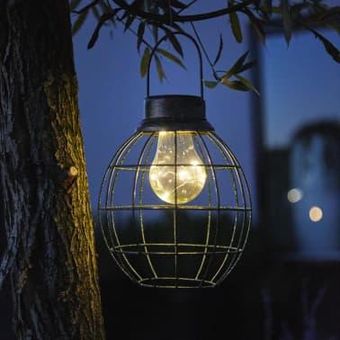 Luxform Solar LED Garten Hängeleuchte Tango Grün 30101[5/6]
