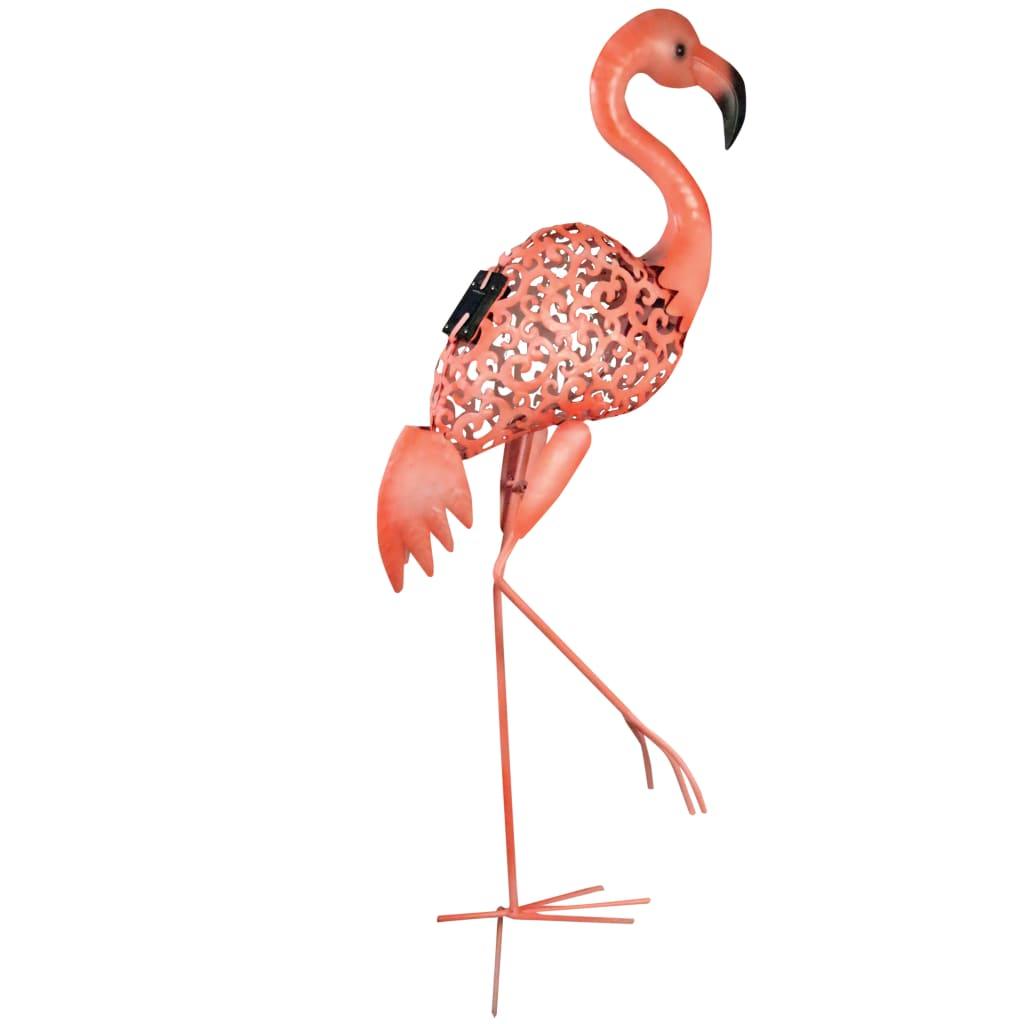 Luxform Lampă solară de grădină Flamingo cu LED-uri, roz, 30111 poza vidaxl.ro