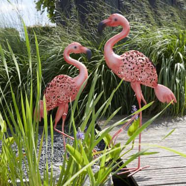 Luxform Lampe LED solaire de jardin Flamingo Rose 30111[2/4]