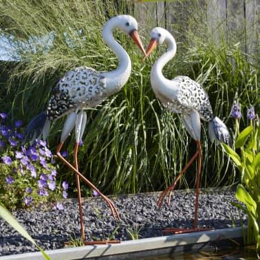 Acheter luxform lampe led solaire de jardin stork multicolore 30112 pas cher - Lampe de jardin led ...