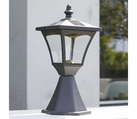 Luxform Lampe LED solaire de jardin à piquet Casablanca Noir 31159[4/7]
