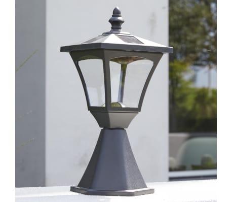 Luxform Lampe LED solaire de jardin à piquet Casablanca Noir 31159[5/7]