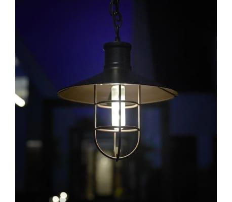 Luxbright Lampe LED solaire de jardin Caledon Bronze foncé 34112[4/4]