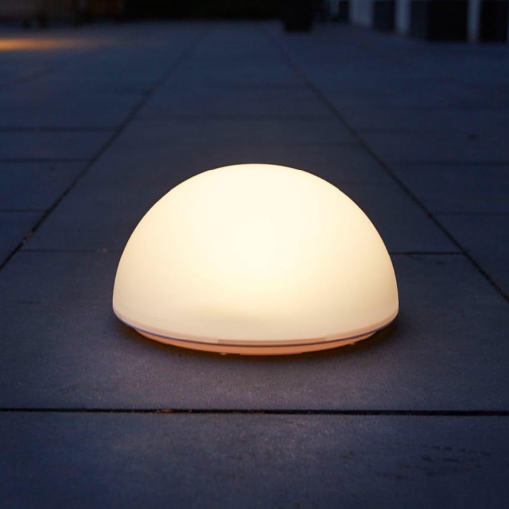 Luxform Lămpi solare LED de podea grădină La Rochette semisferă 40101 vidaxl.ro