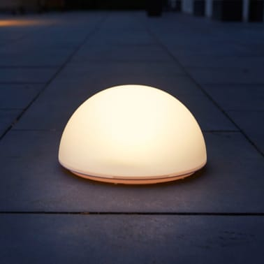 Acheter Luxform Lampe LED solaire de jardin La Rochette Semi-globe ...