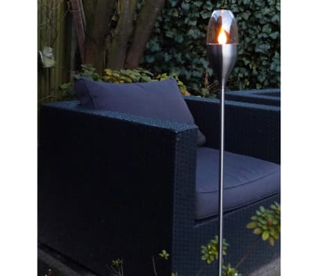 Luxform Lampe LED solaire de jardin à piquet Argenté 41165[3/5]