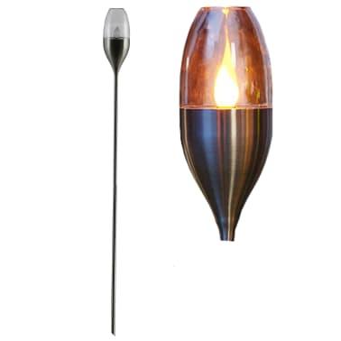 Luxform Lampe LED solaire de jardin à piquet Argenté 41165[2/5]