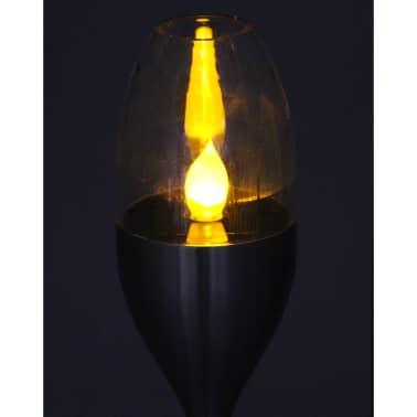 Luxform Lampe LED solaire de jardin à piquet Argenté 41165[4/5]