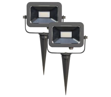 Luxform De 52297 Uds12 Negro Conjunto 2 Focos V Jardín Gladstone DWH2EY9I