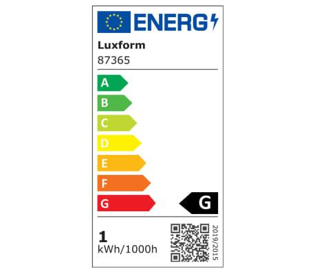 Luxform Spot LED enterré de jardin Thalos 6 pcs 12 V Argenté 87665[7/8]