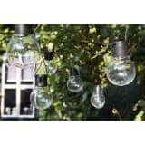 Luxform Guirlande lumineuse sur batterie 10 LED Menorca Transparent