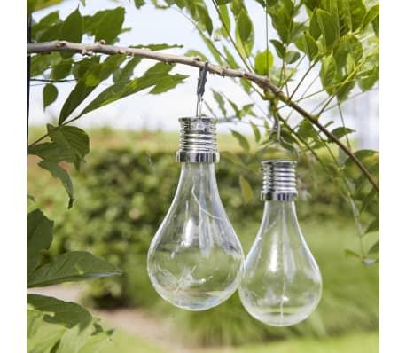Luxform Lampe LED solaire de jardin 12 pcs Transparent 95220[3/6]