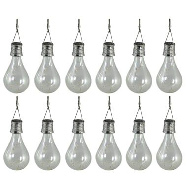 Luxform Lampe LED solaire de jardin 12 pcs Transparent 95220[2/6]