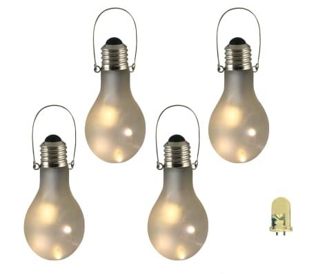 Luxform Lampe LED de décor de jardin 4 pcs Verre dépoli 95434[1/2]
