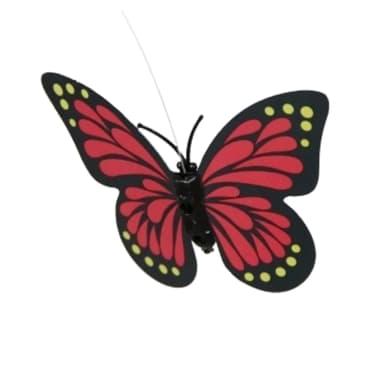 Pack de 24 balizas solares butterfly para jard n marca for Balizas solares para jardin