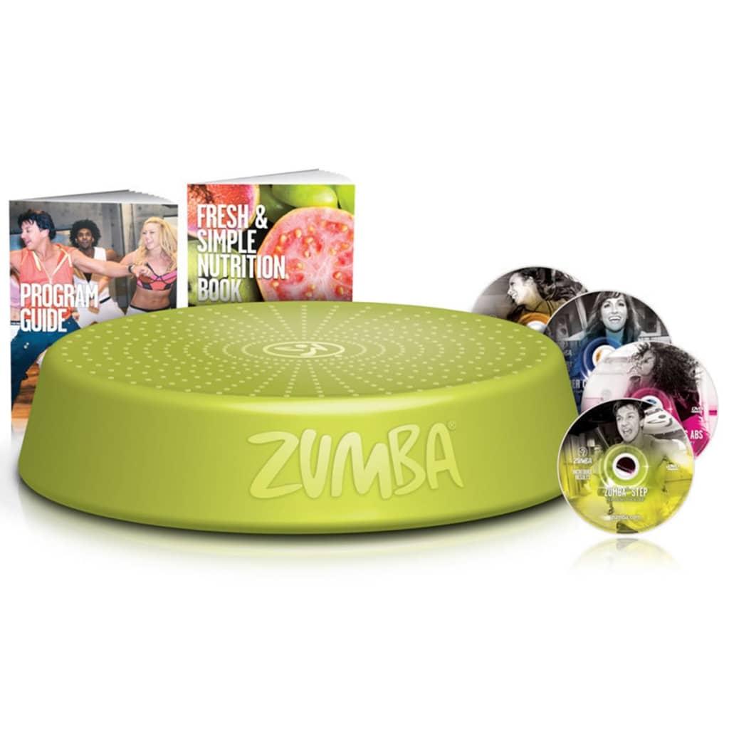 Zumba astmelaud koos 4 treening-DVDga, roheline