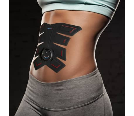 abtronic x8 electrical muscle stimulator black training toner beltthe abtronic x8 muscle electrical muscle stimulator has a revolutionary and sleek design that completely focuses on your abdominal muscles