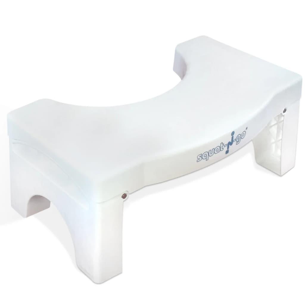 Afbeelding van Squat-n-Go Able2 toiletkrukje - opvouwbaar - Wit