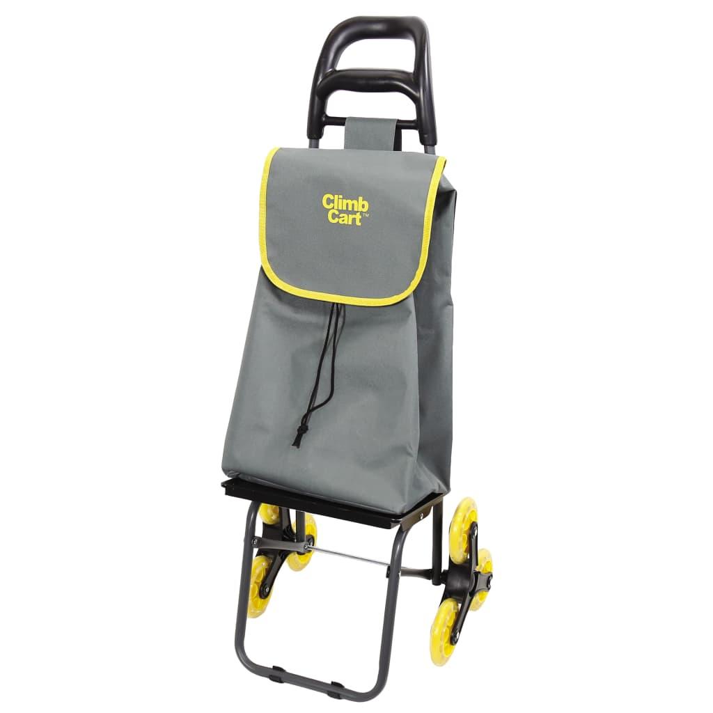 Afbeelding van Climb Cart Boodschappenwagen grijs CCA001