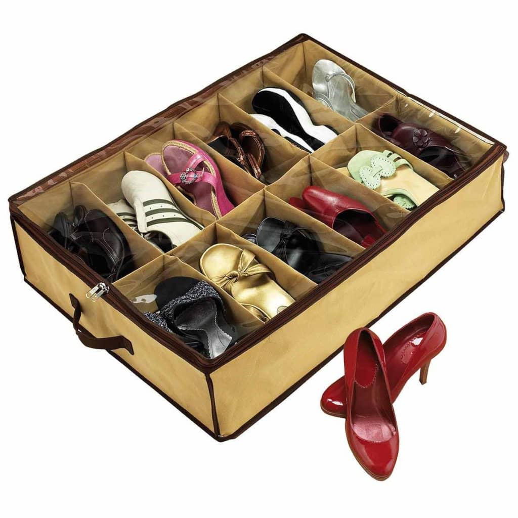 Afbeelding van Shoes Under Schoenenkast bruin SHU001