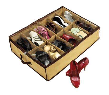 Shoes Under Schuh Organizer Braun SHU001