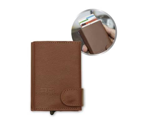 Card Guard Portefeuille protecteur de carte Marron CAG002[2/4]