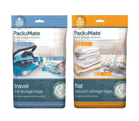 Packmate Bolsas de almacenaje al vacío 6 piezas grandes PAC001[1/2]