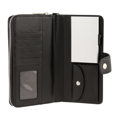 Card Guard Geldbörse mit Kreditkartenschutz Frauen Schwarz CAG004[1/4]