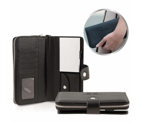 Card Guard Geldbörse mit Kreditkartenschutz Frauen Schwarz CAG004[2/4]