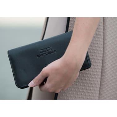Card Guard Geldbörse mit Kreditkartenschutz Frauen Schwarz CAG004[4/4]