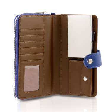 Card Guard Geldbörse mit Kreditkartenschutz Frauen Blau CAG006[1/4]