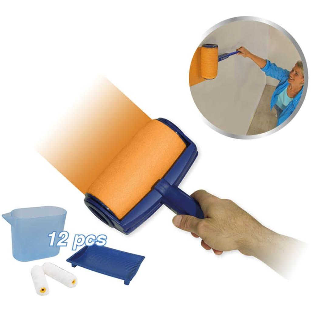 Afbeelding van Orange Donkey Orange Donker Verfrollerset blauw REA001
