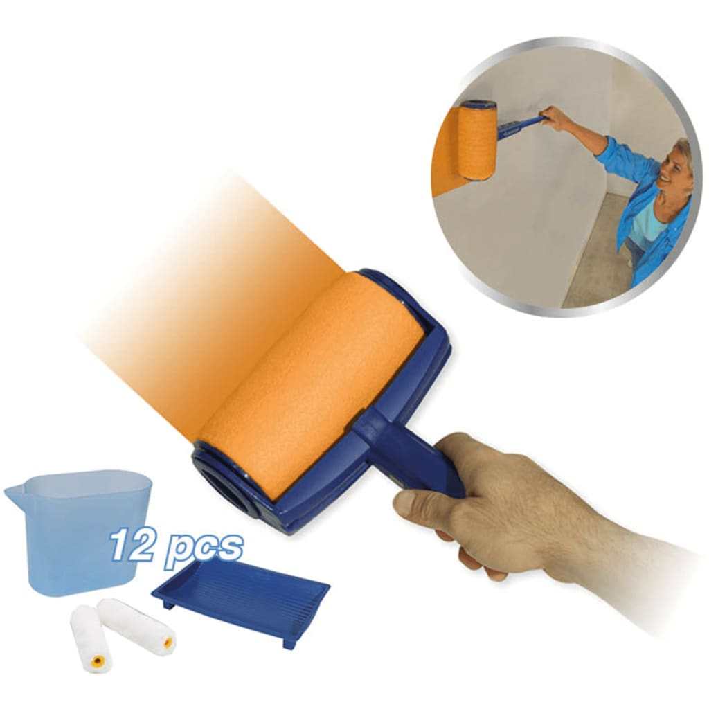 Orange Donkey Set de trafalete, albastru, REA001 poza vidaxl.ro