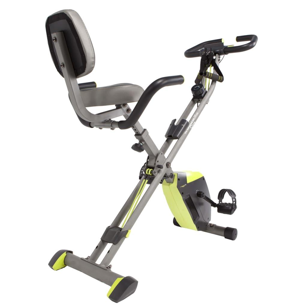 Wonder Core Bicicletă fitness 2-în-1 Hometrainer vidaxl.ro