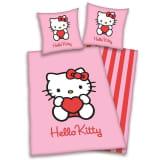 Hello Kitty flanel dekbedovertrek - 100% geruwde flanel-katoen -