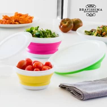 Bravissima Kitchen Vouwbare Lunchboxen (3 stuks)[1/5]