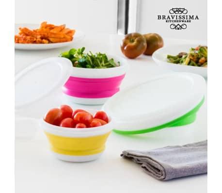 Bravissima Kitchen Vouwbare Lunchboxen (3 stuks)[2/5]