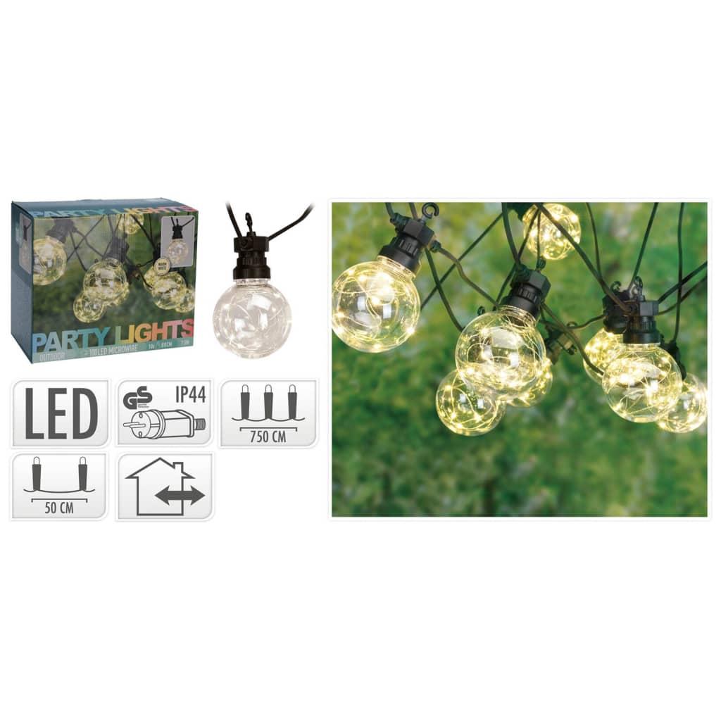 Geen Merk Feestverlichting 50 Lampen - Tuinverlichting -