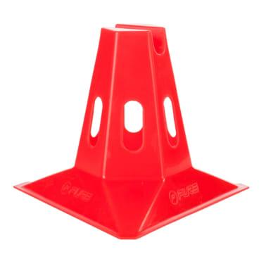 Pure2Improve Conos de entrenamiento 6 piezas 150 mm rojo[3/3]