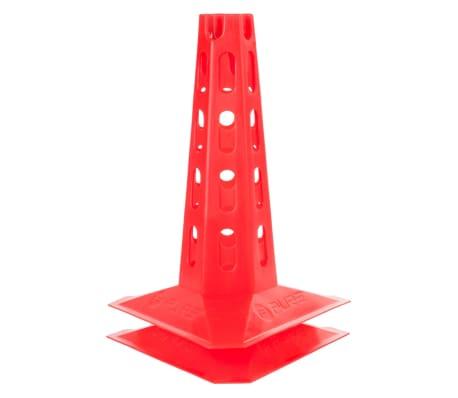 Pure2Improve Conos de entrenamiento 6 piezas 300 mm rojo[3/3]